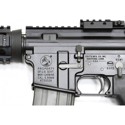 GHK M4 CQB RAS Gas Blow Back Rifle 2017 Ver.2 Cybergun